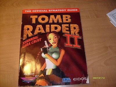 Tomb Raider II Prima Strategy Guide Kip Ward, Nice!