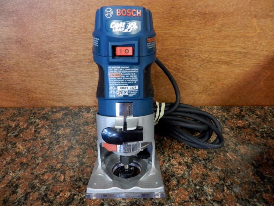 Bosch Colt PR 20EVS Electronic Variable Speed Palm Router B2