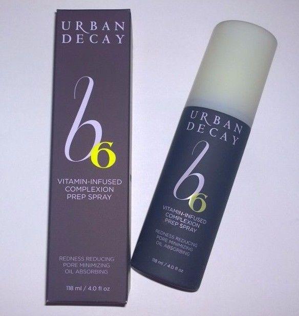 Urban Decay B6 Vitamin-Infused Complexion Prep Spray - Full Size - 4oz - NIB