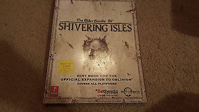 The Elder Scrolls IV Shivering Isles Prima Strategy Guide Expansion, Nice!!