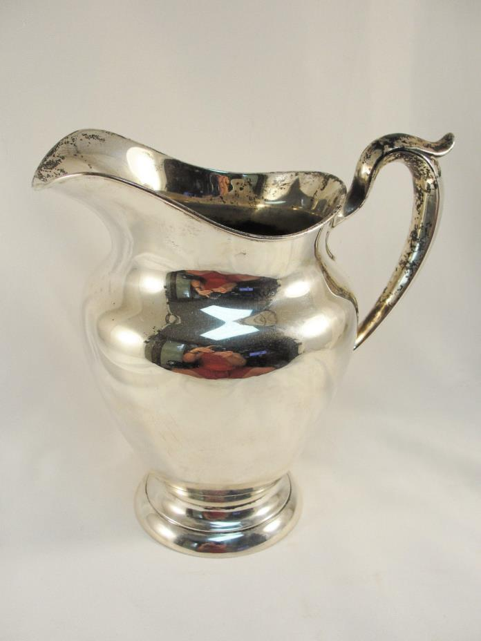 GORHAM 182 4 1/4 Pint Sterling Silver Pitcher 22 OZ