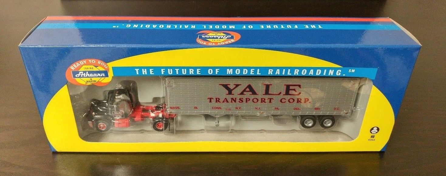 Athearn HO Ready to Roll RTR Mack B Semi Truck w/ Trailer Yale Transport Corp