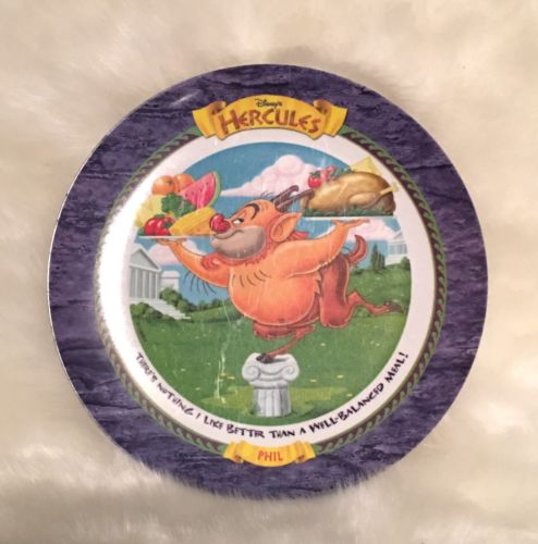 1997 McDonalds Hercules Plate PHIL NEW