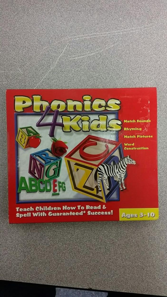 Phonics 4 kids PC game