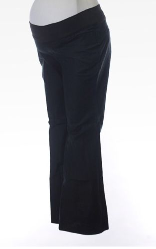 Gap Maternity Size 6 Stretch Pants Black
