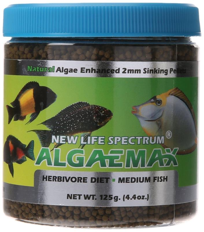 New Life Spectrum Algae Max Medium 125g 2mm Pellet