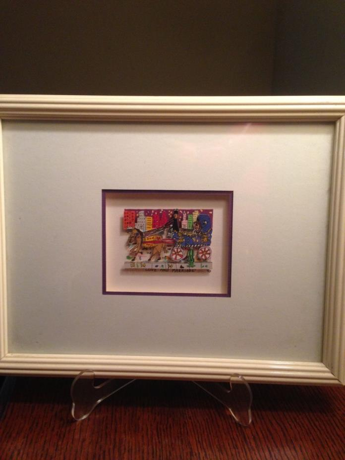 LOVE AND MARRIAGE by JAMES RIZZI Artist Hand Signed & Numbered, Dated and Framed
