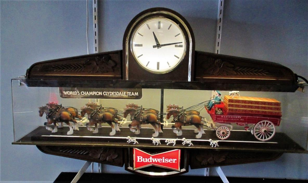 Budweiser Clock Sign For Sale Classifieds