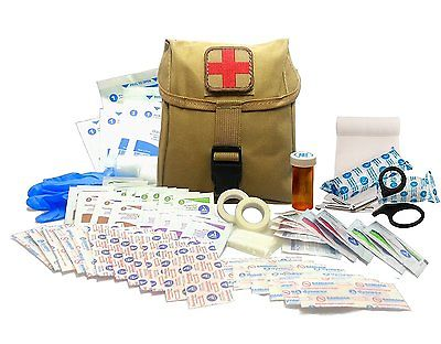 New Recruit First Aid Kit - Military IFAK Army Medic - Tan