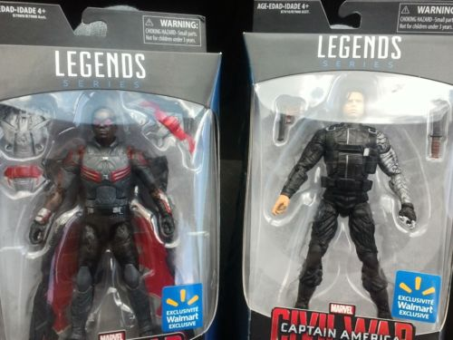 Marvel Legends Falcon and Winter Soldier