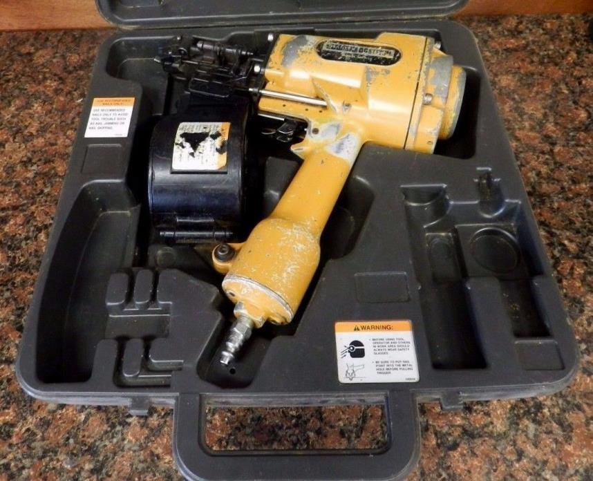 Stanley Bostitch MCN65 - Pneumatic Metal Connector Coil Nailer w/case F1
