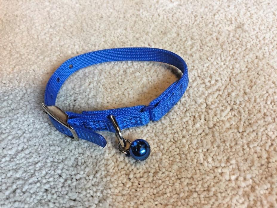 Cat Safety Breakaway Collar w/Bell, 1/2