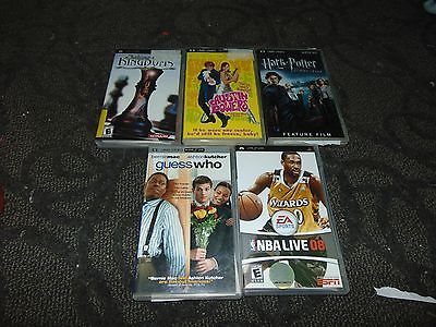 PSP game/movie lot