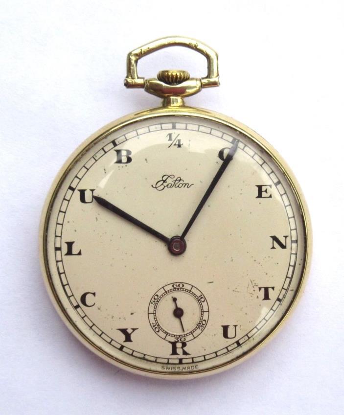 Rolex 1/4 century club pocket watch