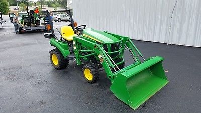 2012 John Deere 1023E Utility Tractors