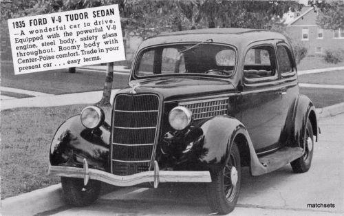 1935 Ford V-8 Tudor Sedan Perry Motors Cut Bank Montana 31