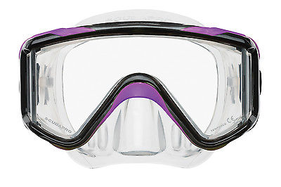 ScubaPro Crystal Vu Plus Dive Mask - w/out purge - BRAND NEW W/WARRANTY!