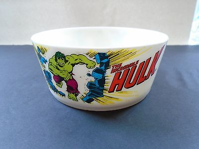 Vintage 1977 Deka Plastic INCREDIBLE HULK Marvel Breakfast Cereal 5 1/2