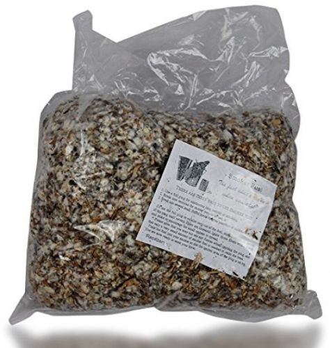 Quality Smoker Bee Hive Fuel Continuous Burn Outdoor Cotton Fiber 1 Lb Bag New