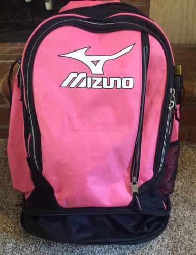 Mizuno - Organizer Bat Pack/Bag Series Futsack Backpack Aerostraps - Pink/Black