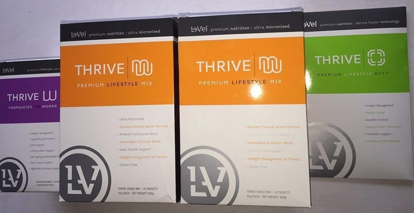 Le-Vel Thrive Experience TONE Pack for Women + DFT Patches NEW