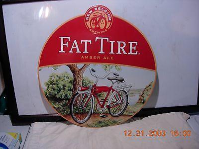 Vintage Fat Tire Amber ale metal sign