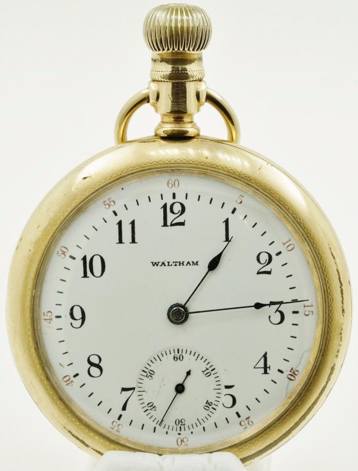 Waltham 15 Jewel 16s Grade 620 Pocket Watch
