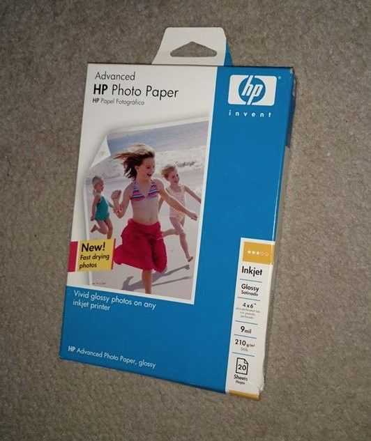 Advanced HP Photo Paper 20 sheets 4