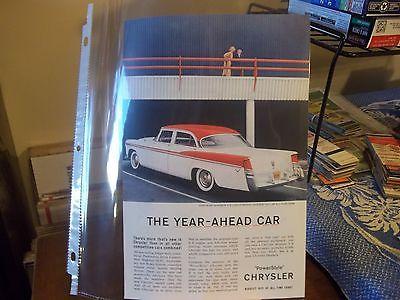 vintage print ad, 1956