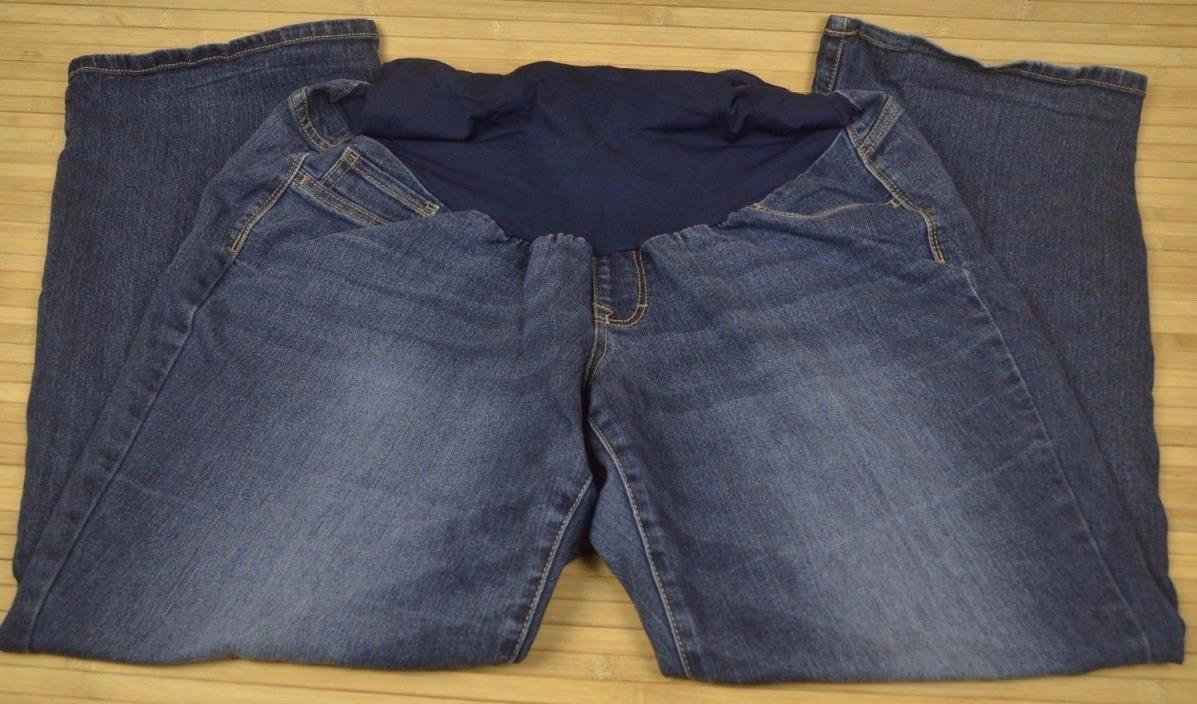 Indigo Blue Maternity Casual Jeans Inseam 29