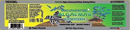 New Life Spectrum AlgaeMax 7.5mm Mini Wafers 125g