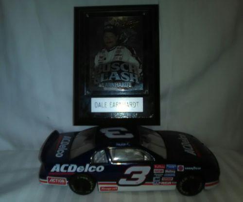 DALE EARNHARDT PLAQUE &  #3 NASCAR- AC DELCO 1997 MONTE CARLO
