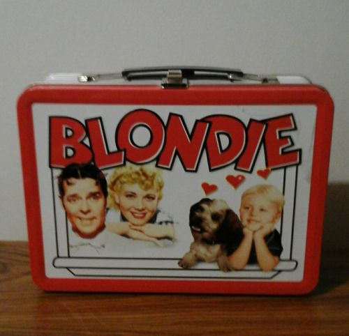 Collectible Blondie Metal Tin Lunch Box   2008