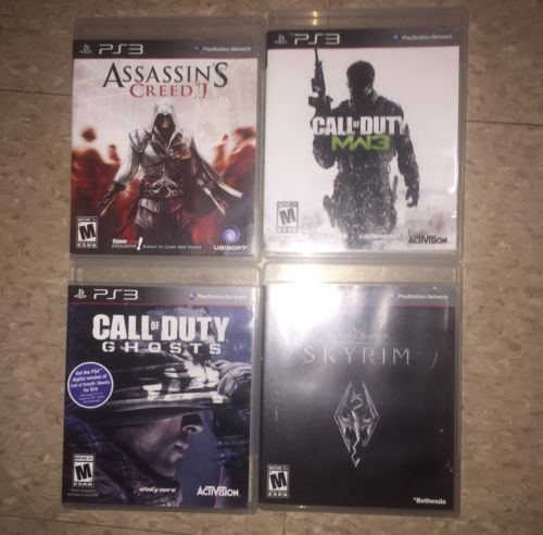Sony PS 3 Lot of 4.  Tested Working $17.99