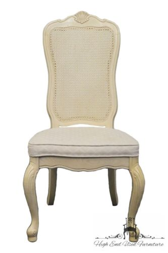 STANLEY FURNITURE Montreux Country French Cane Back Dining Side Chair 121-21-61