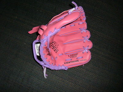 Rawlings - LS900P 9 inch Right Handed Girls Rule Pink Baseball Glove