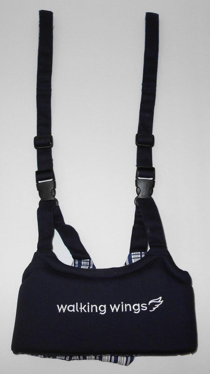 Upspring Baby Navy Blue Walking Wings Learning To Walk Assistant Harness
