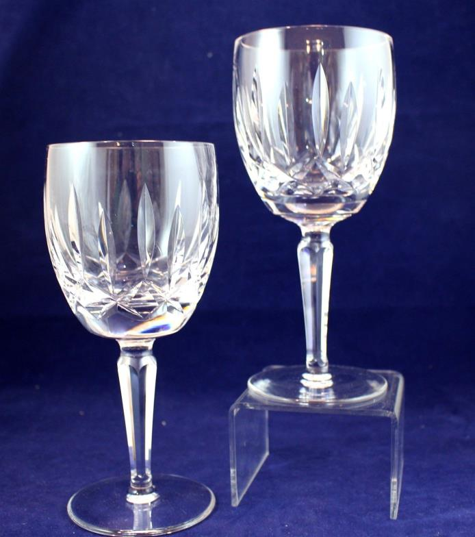 Pair of Waterford Kildare Pattern Water Goblets 7