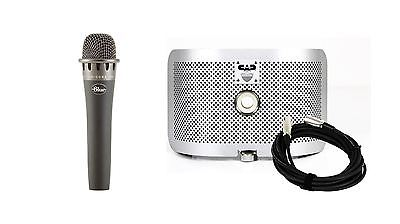 Blue Encore 100i Microphone w/ CAD AS16 Acoustic Shield & Cable