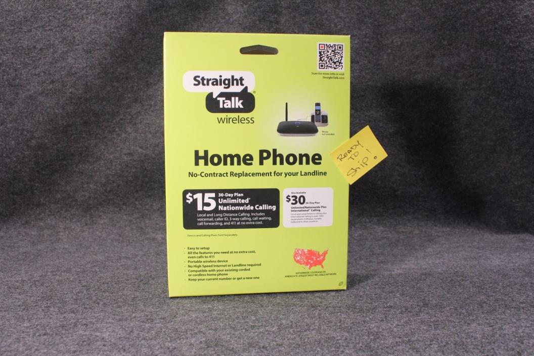 Straight Talk Huawei H226C Prepaid Wireless Home Phone Network factory sealed bx