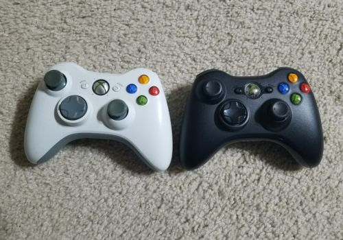 Official Microsoft Xbox 360 Wireless Controller Lot  AS-IS See description