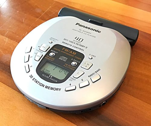 PANASONIC SL-SX469V Portable CD Player AM/FM Radio Excellent Condition!