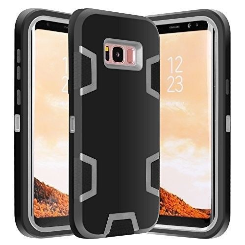 Galaxy S8 CASE- Hybrid Defender Rugged Shockproof Dirtproof Case Cover-2017-NEW