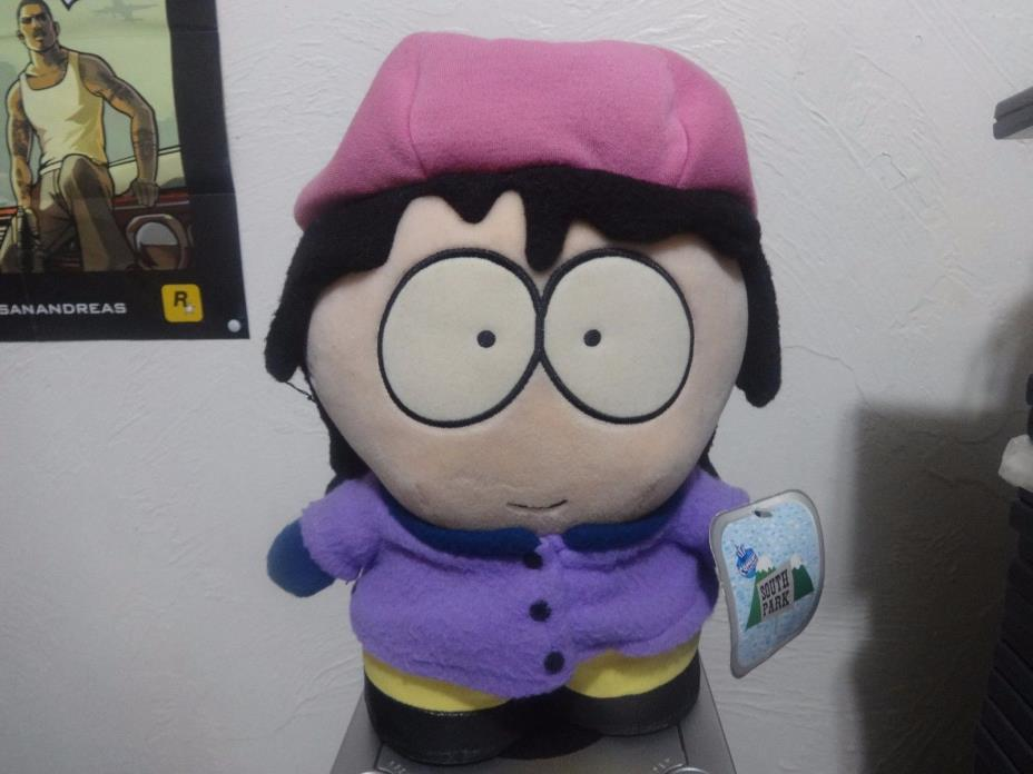 1998 South Park Wendy Testaburger Plush Doll (Comedy Central) Fun4All  NWT