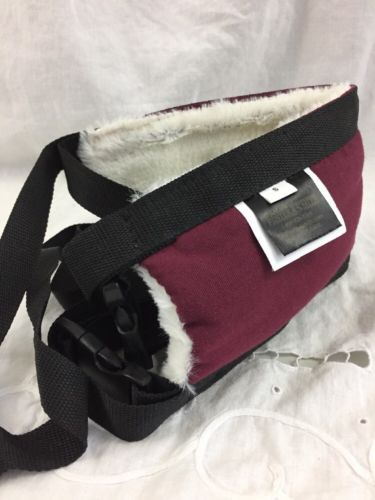 Doctors Foster Smith Dog Walking Support Sling Harness  Canvas Soft Fur Small