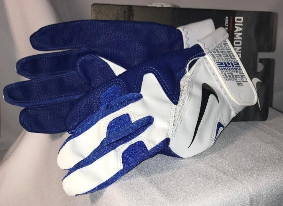 Nike Diamond Elite Pro Baseball Batting Gloves New Size M