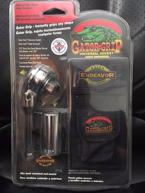 Gator Grip Universal Socket - NEW In Package
