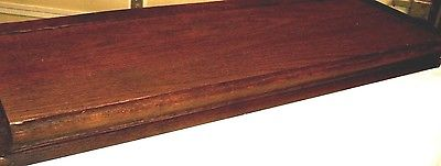 Antique Oak Ogee Bookcase Top for Globe Wernicke or Macey. Japanned Ends 9494