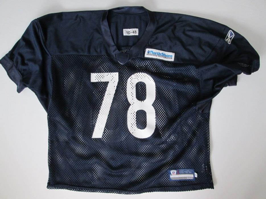 Chicago Bears Team Issued Football Practice Jersey Game Used Reebok