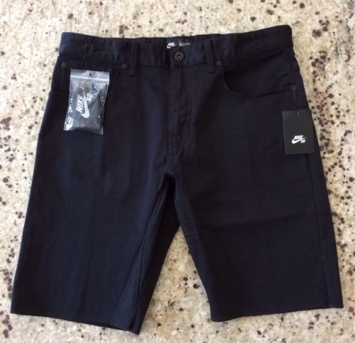 New Men's Nike SB 5 Pocket Skateboarding Shorts Size 32